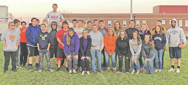 Twenty-eight members from the McClain FFA Chapter attended the third annual Turkey Bowl on Friday, Nov. 3. The event allowed members to come together and play a friendly game of football under the lights of the McClain football field. Teams battled against one another in a game of flag football. Being on teams allows members to bond and learn team work.