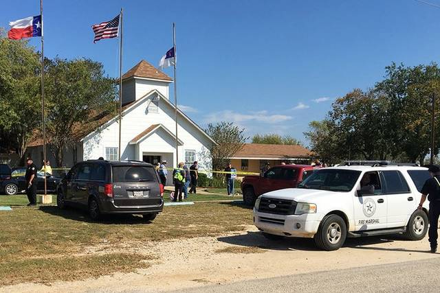 A man opened fire inside of a church in a small South Texas community on Sunday, killing more than 20 people