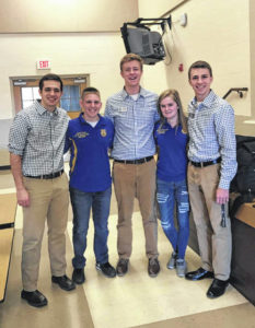 Hillsboro FFA hosts Leadership Night