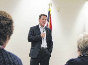 Husted makes campaign stop in Hillsboro