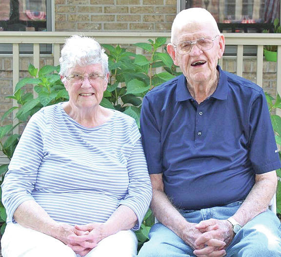 Former longtime Hillsboro residents Glenn and Opal Armstrong celebrated their 60th wedding anniversary on Dec. 22.