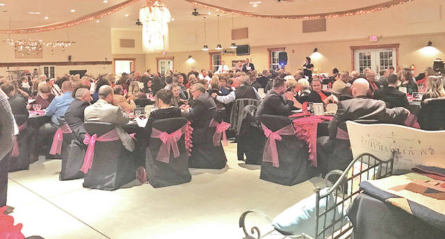 Some of those who attended the annual Highland District Hospital Foundation Holiday Ball last weekend are shown.
