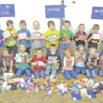 Lynchburg-Clay students send packages to military members