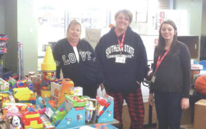 Toys for Tots collecting