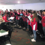 Symphonic choir performs at Rotary