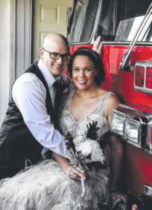 Married at the Hillsboro firehouse