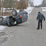 Minor injuries in Greystone Drive rollover