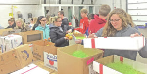 Lynchburg-Clay FFA holds winter fundraiser