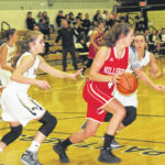 Hillsboro ladies travel to Miami Trace High School for FAC action, lose 61-29