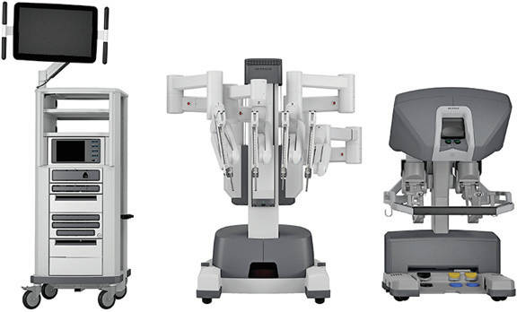 Some of Adena Health System's new surgical robotic equipment is shown in this photograph.