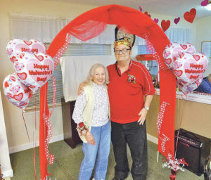 Bell Gardens Valentine's king and queen