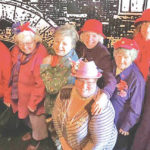 Precious Pearls Red Hatters visit Paxton Theatre