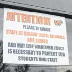 School staff armed at Bright Local in Highland County