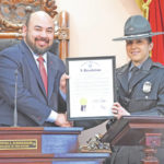 Rosenberger honors OSHP Trooper of Year