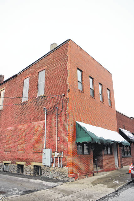 Shown is what is commonly referred to as the Armintrout Building in Hillsboro. The building, which has fallen into disrepair, is set to be demolished in April.