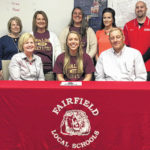 Fairfield senior Blake Adams signs with Walsh University for track and field.