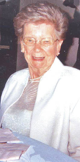 Ruth Anderson Bristley of Lyndon will celebrate her 100th birthday on the first Friday of May. She was born May 4, 1918 to Morris and Essie Vanscoy Anderson near Anderson Station.