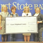 First State donates to Grow! Highland County