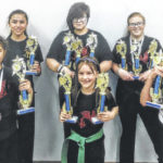 Girls of the Cross County Bushido Karate Club continue to succeed