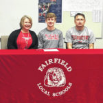 Fairfield's Matthew Mangus signs with Youngstown State University for track and cross country