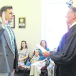 Todd Wilkin takes oath as new Greenfield city manager