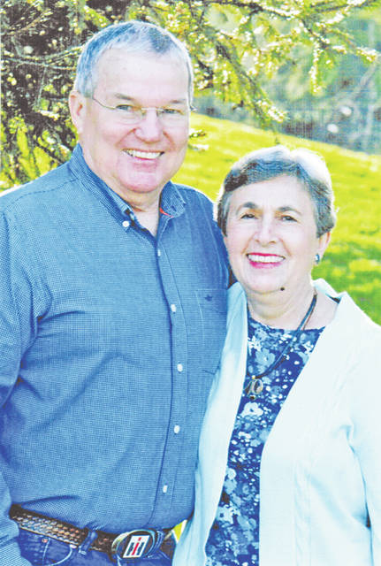 "Charles ""Bucky"" and Judy (Grimsley) Ellis will celebrate their 50th wedding anniversary on June 9."