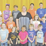 Lynchburg-Clay Elementary School May Students of the Month