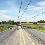 High winds down power lines near Hillsboro