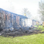 Home heavily damaged by fire