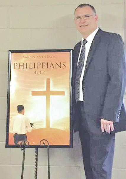 """Highland County resident Aaron Anderson has announced the release of his first book titled """"Philippians 4:13."""" The book is published through Christian Faith Publishing and is based in Pike County in the community of Elm Grove, where he grew up. As a minister and a motor coach operator for Croswell out of Williamsburg, Anderson has traveled the United States and Canada. While traveling, he became a Christian author. Anderson, along with his wife Ingrid and sons, have made Highland County their home for the last 28 years. His book is available online through Amazon, Barnes & Nobles.com, Books-A-Million.com (BAM), Walmart.com and is coming soon to iTunes. It is also available at Becky's Relaxation Station in Greenfield."""