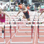 McClain's Chayden Pitzer takes 8th in 100 hurdles Saturday, competes in prelims if 300 hurdles and 100 dash Friday