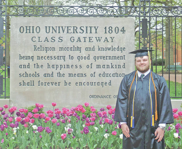 William Casey Fife graduated from Ohio University on May 5.