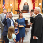 Updated: 'Time to try another challenge' as Wilkin attends last meeting; former commissioner sworn in Wednesday to state legislature