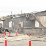 Demolition project on Trimble nearly finished