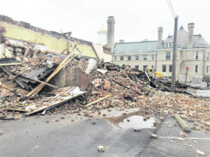 Updated: Former Armintrout law office demolished Thursday