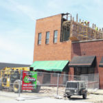 Crews make progress on Trimble Place building demolition