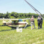None injured in plane mishap near Rocky Fork Lake