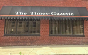 Times-Gazette owners, publishers, editors through the years