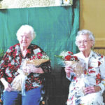 100-year-old schoolmates meet again at reunion