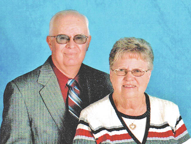 Herbert and Clara Montgomery will celebrate their 50th wedding anniversary with an open house held by their children from noon to 4 p.m. Saturday, Aug. 11 at the Pricetown Church of Christ. They were married Aug. 17, 1968 at the Highland Methodist Church by the Rev. Fred Kline. Their children are Lori (Ronnie) Gossett and Brian Montgomery. Your presence will be your gift to them.