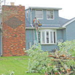 Storm batters parts of county