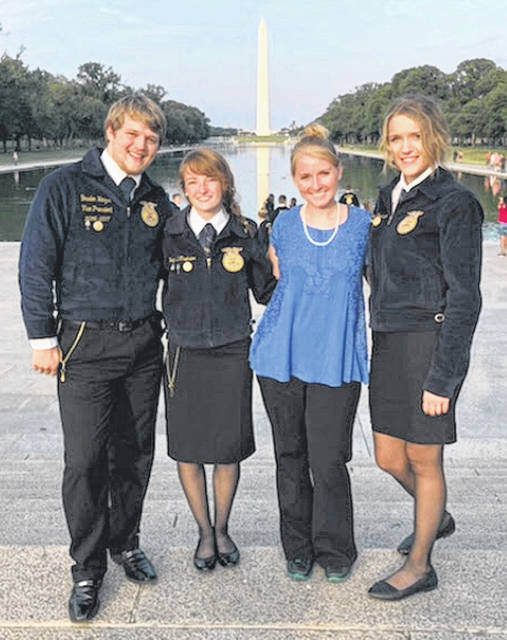 """Three members of the Fairfield FFA Chapter recently left for a once in a lifetime experience — the Washington Leadership Conference. During the days spent in the nation's capital the members got to tour the area and see all of the city's monuments and landmarks. They learned about the influential people who inspired the monuments and their impact on the country. The conference focused on giving back to their own communities and being an active citizen. The members including Teigan Thackston, Brayden Heizer and Bri Burleson created their own """"Living to Serve"""" programs that they plan to bring back to make an impact on their hometown. The students attended workshops that focused on the motto """"Doing what we can with what we have, where we are."""" The members described the conference trip as """"life changing and impactful."""" They are encouraging their fellow members to attend the Washington Leadership Conference in the future."""