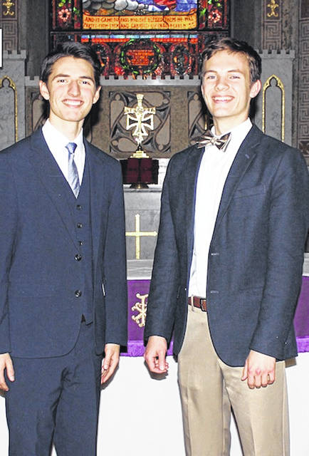 Christopher Ford, left, and Daniel Jacky will present a free concert Sunday, Aug. 19 at St. Mary's Episcopal Church in Hillsboro.