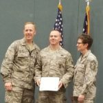 Holiday receives Air Force degree