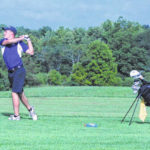 McClain boys golf wraps up third match in three day to open season