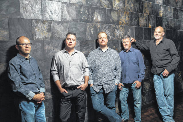 Members of the Lonesome River Band, the headline act Saturday at Bluegrass in Bainbridge, are shown in this photograph.