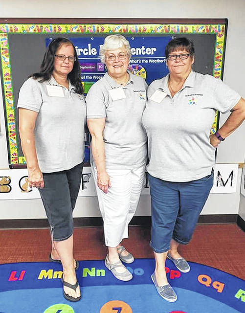 Annie Diles, Debby Shuler and Stephanie Williams are the teachers at The Academny Preschool.