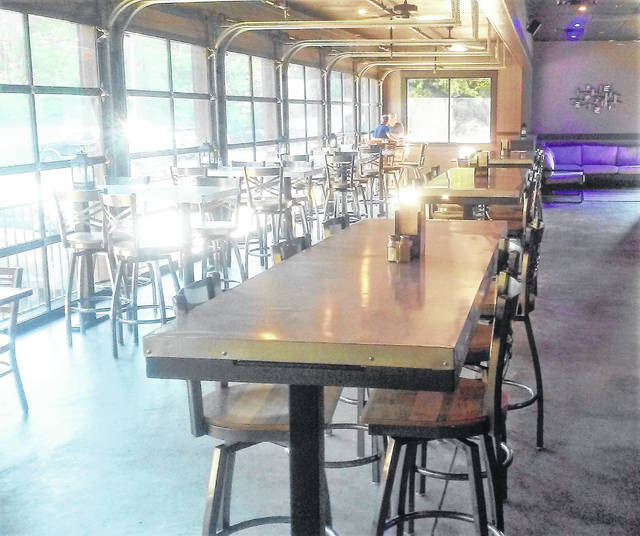 """The newly remodeled """"Patio at Alley 21"""" is bright, spacious and family-friendly, according to the owners."""