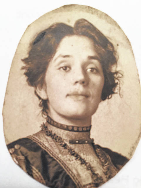 Late Greenfield resident Alta Smith Dwyer is pictured at age 26.